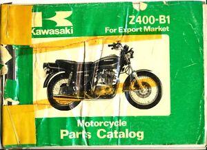 Kawasaki-Z400-B1-Motorcycle-Parts-Catalogue