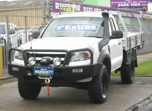 2010 Ford Ranger PK XL White 5 Speed Manual Cab Chassis