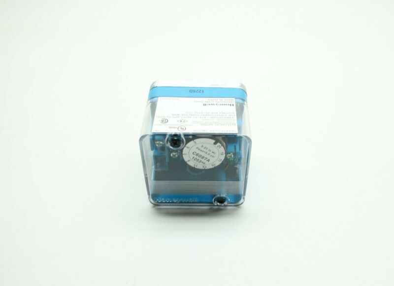 Honeywell C6097A1053 Gas Pressure Switch 1/4in Npt 3-21in-h2o 120-240v-ac