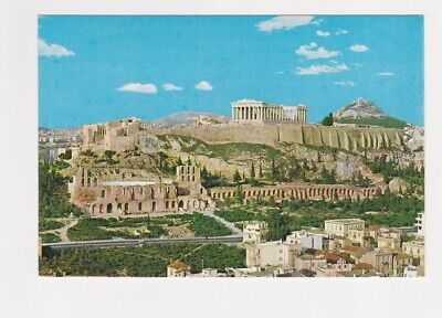 a View of the Acropolis in Athens Greece Postcard Acropolis View Athens Greece
