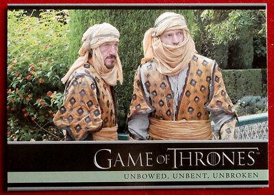 GAME OF THRONES - Season 5 - Card #17 - UNBOWED, UNBENT, UNBROKEN - B