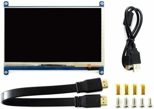 7inch HDMI LCD (C) 1024×600 IPS Capacitive Touch Screen Supports Various Systems