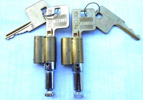 2  NEW  Hockey Puck  lock padlock Cylinders