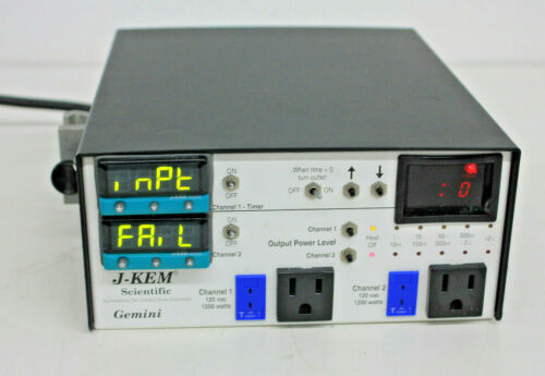 J-Kem Scientific Gemini · Dual-Channel Temperature Controller