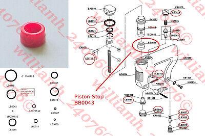 Senco Model J Stapler O-ring And Piston Stop Kit Bb0043
