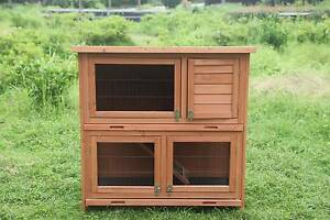 Two story Rabbit and guinea pig hutch with Ramp(WP-R015) Maddington Gosnells Area Preview