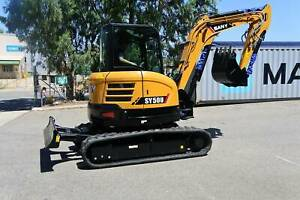 Sany SY50U Excavator Maddington Gosnells Area Preview