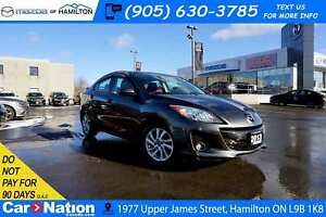 2013 Mazda Mazda3 GS-SKY | HEATED SEATS | LEATHER | SUNROOF |
