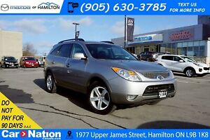 2011 Hyundai Veracruz GLS | AWD | LEATHER | SUNROOF | HEATED SEA