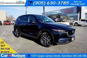 2018 Mazda CX-5 GT   LEATHER   SUNROOF   REAR CAM  