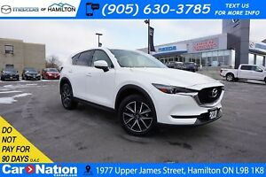 2018 Mazda CX-5 GT | LEATHER | SUNROOF | NAV | REAR CAM