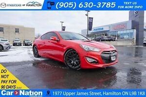 2015 Hyundai Genesis Coupe 3.8 GT | LEATHER | NAV | REAR CAM | S