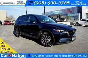 2018 Mazda CX-5 GT | SUNROOF | LEATHER | NAV | REAR CAM