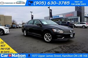 2017 Volkswagen Passat 1.8 TSI TRENDLINE+|HEATED SEATS|REAR CAM|