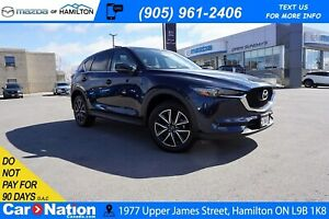 2018 Mazda CX-5 GT | LEATHER | SUNROOF | REAR CAM | HEATED SEATS