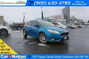 2016 Ford Focus SE | REAR CAM | HEATED SEATS | SAT RADIO