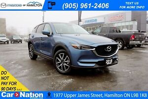 2018 Mazda CX-5 GT| LEATHER | SUNROOF | NAV | REAR CAM