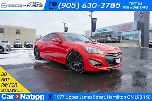 2015 Hyundai Genesis Coupe 3.8 PREMIUM | LEATHER | NAV | REAR CA