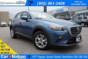 2019 Mazda CX-3 GS | LEATHERETTE | SUNROOF | REAR CAM | AWD