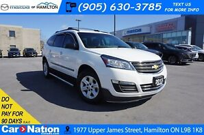 2015 Chevrolet Traverse LS | LEATHER | 7 PASSENGER | DVD PLAYER | REAR CAM