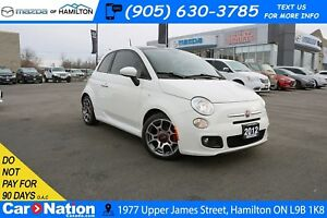 2012 Fiat 500 SPORT | 5 SPEED | LEATHER | SUNROOF