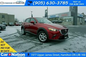 2019 Mazda CX-3 GS | LEATHER | SUNROOF | REAR CAM | HEATED SEATS