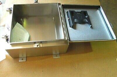 Hoffman Enclosure A16h1606ss6lp Stainless Nema 4x  New  843wh