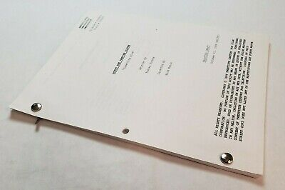 BUFFY THE VAMPIRE SLAYER / 1999 TV Script, Willow's spells