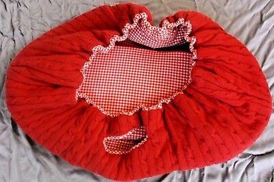 Tadpoles Baby Sleeping Partners Newborn Portable Basket Sleeper Doll Red -