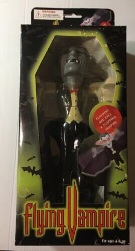 Flying Vampire - Flashing Red Eyes, Flapping - Halloween Decoration