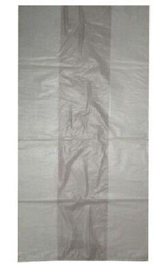 200 Clear Refuse HD Sacks Bags 160G for Rubbish Frosty Strong Bags 18
