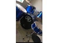 5 Piece Drum Kit- ideal Christmas present!