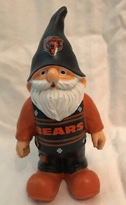 Gnome Ornament (Chicago Bears Gnome Ornament NFL Team Collectible NEW)