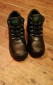 PSF Safety Boots size 9 antistatic slip resistant and oil resistant
