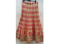 Asian indian wedding lehenga size 12