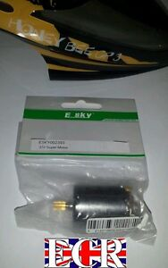 ESKY HONEY-BEE CP3 RC HELIKOPTER ERSATZTEILE HAUPT 370 SUPER MOTOR 002393 CPX =
