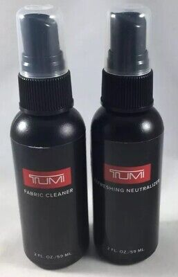 Tumi luggage fabric cleaner and refreshing neutralizer, 2oz each