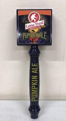 "Long Trail Brewing Co Pumpkin Ale Tap Handle 11.75"" Tall Halloween - Halloween Pumpkin Ale"
