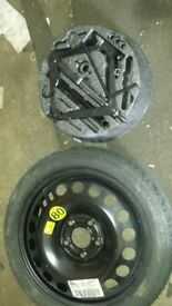 Brand new Vaux Astra Vectra Zafira Spare wheel Space saver & manual & jack kit from 06 vectra 16in