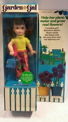 Garden gal by kenner general mills doll mint in box