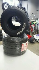 Bridgestone Rain Tire pair (2) go-kart wagon bar stool racing  60/110-5 NEW