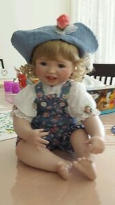 Porcelain Doll by the Hamilton Collection.