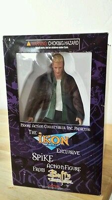 BTVS Buffy the Vampire Slayer IKON Spike CHASE GREEN SHIRT EXCLUSIVE FIGURE