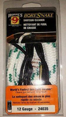 12 Gauge Shotgun Rifle Gun Hoppe's Bore Snake Cleaner Free Shipping - Hoppes Boresnake Shotgun