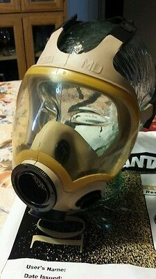 New Msa Advantage 1000  Gas Mask Biological Painting Medium Msaglot
