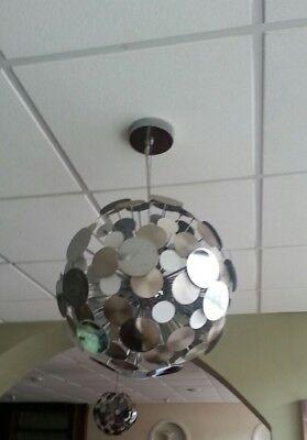 Eclipse ceiling light disco ball effect - Disco Ball Pendant Light