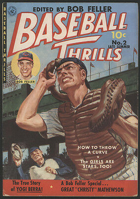 BASEBALL Thrills #2, 1951, Ziff-Davis Publ. Co.