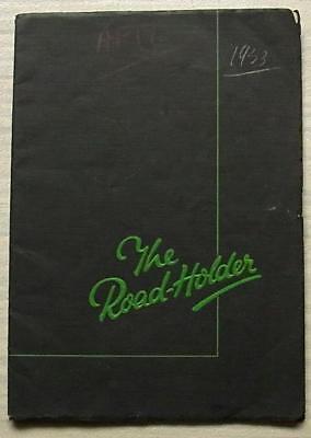 NORTON MOTORCYCLES & SIDECARS Sales Brochure 1933  18 16H 1 19 CS1 ES2 30 40