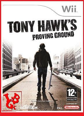 TONY HAWK Proving Ground Surf  Wii Nintendo jeu jeux Video compatible Wiiu Wii-U