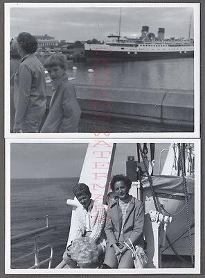 Vintage Photos Princess Marguerite Ferry & Life Boat 682670